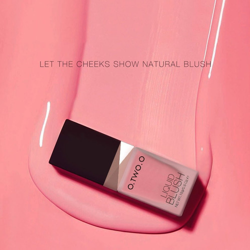 o.two.o liquid blush maquillaje blush blush larga duración c