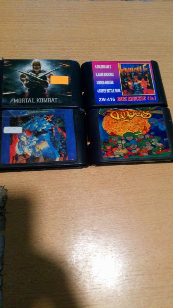 Oultet Lote De 4 Juegos Para Sega Genesis 500 00 En Mercado Libre