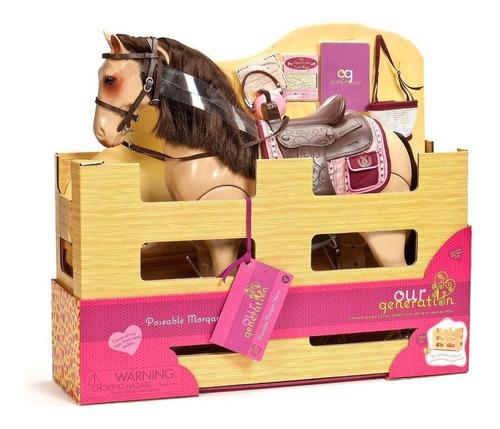 our generation caballo morgan 50cm accesorio muñeca bd38146