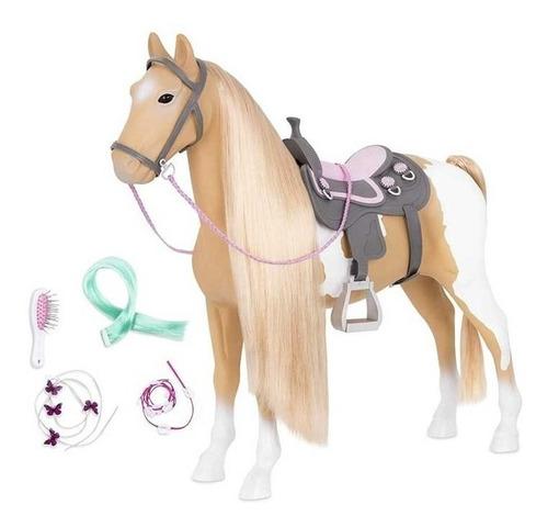 our generation caballo pelo largo 50cm accesorio muñecas ed