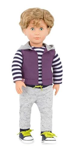 our generation muñeco rafael 46cm ropa con capucha cuotas