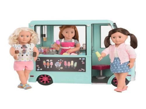our generation sweeet stop ice cream truck camion de helado