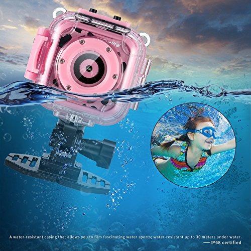 ourlife kids cámara impermeable con video recorder incluye