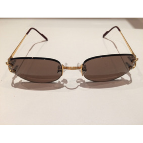 0eb519c17 Oculos Cartier Solar Com Ouro - Joias e Bijuterias no Mercado Livre ...