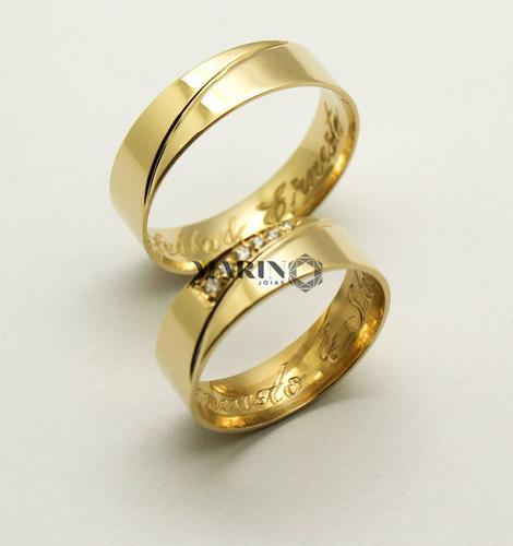 ouro casamento aliança