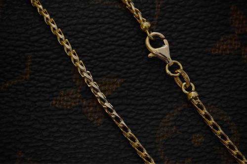 ouro colar corrente