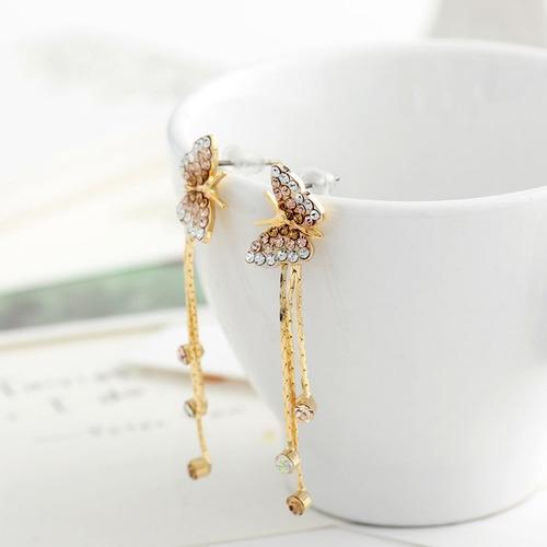 ouro jóia brincos