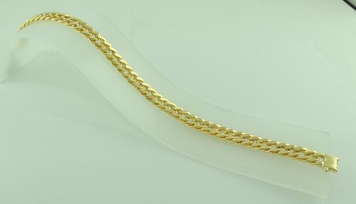 ouro masculina pulseira