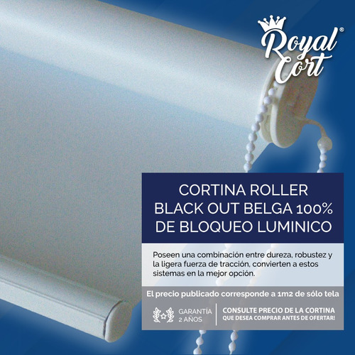 out roller cortinas black