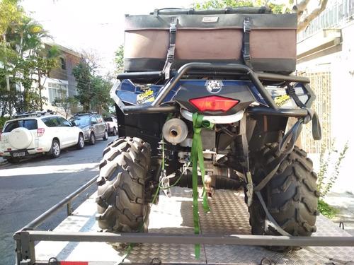 outlander max xtp 800cc 2 lugares com guincho eletrico