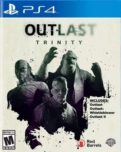 outlast trinity ps4 fisico sellado jazz pc envio gratis