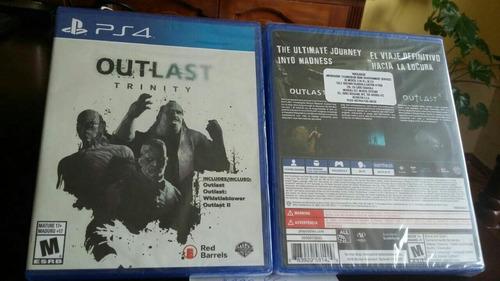 outlast trinity ps4 nuevos y sellados