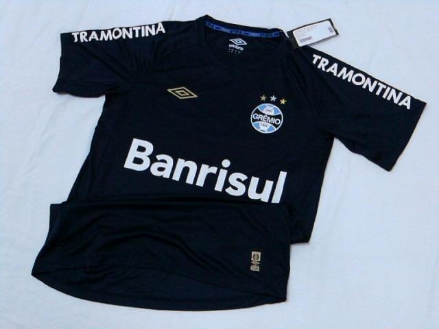 Outlet 058 Camisa Goleiro Gremio Oficial Umbro 2015   2016 - R  109 ... acbe58f29ccce