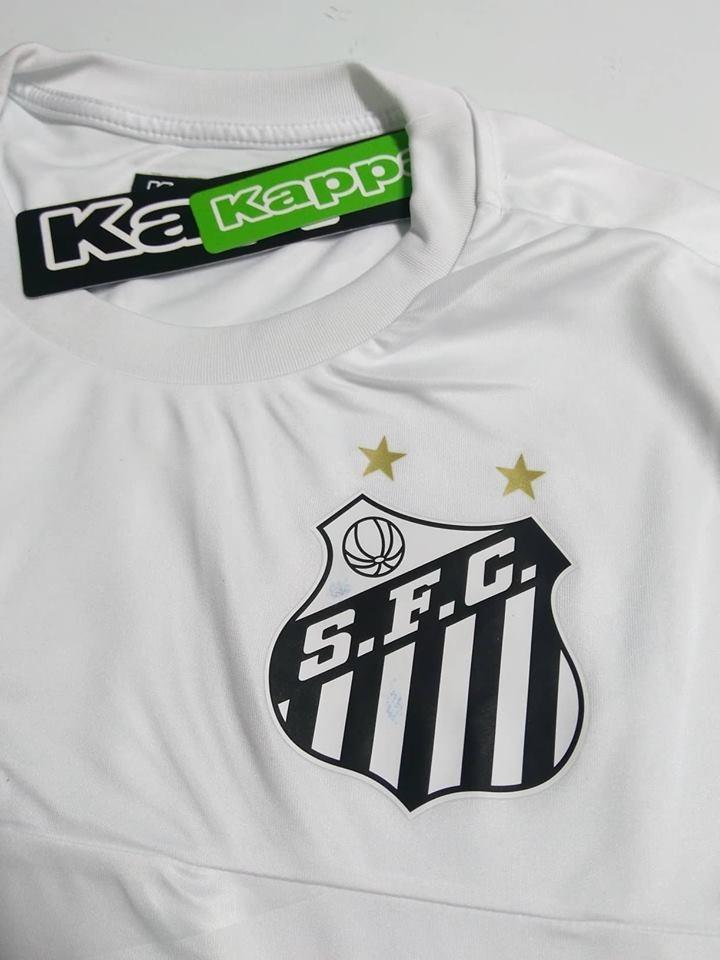 9faee175b7 ... camisa santos treino oficial kappa 2016 2017. Carregando zoom.