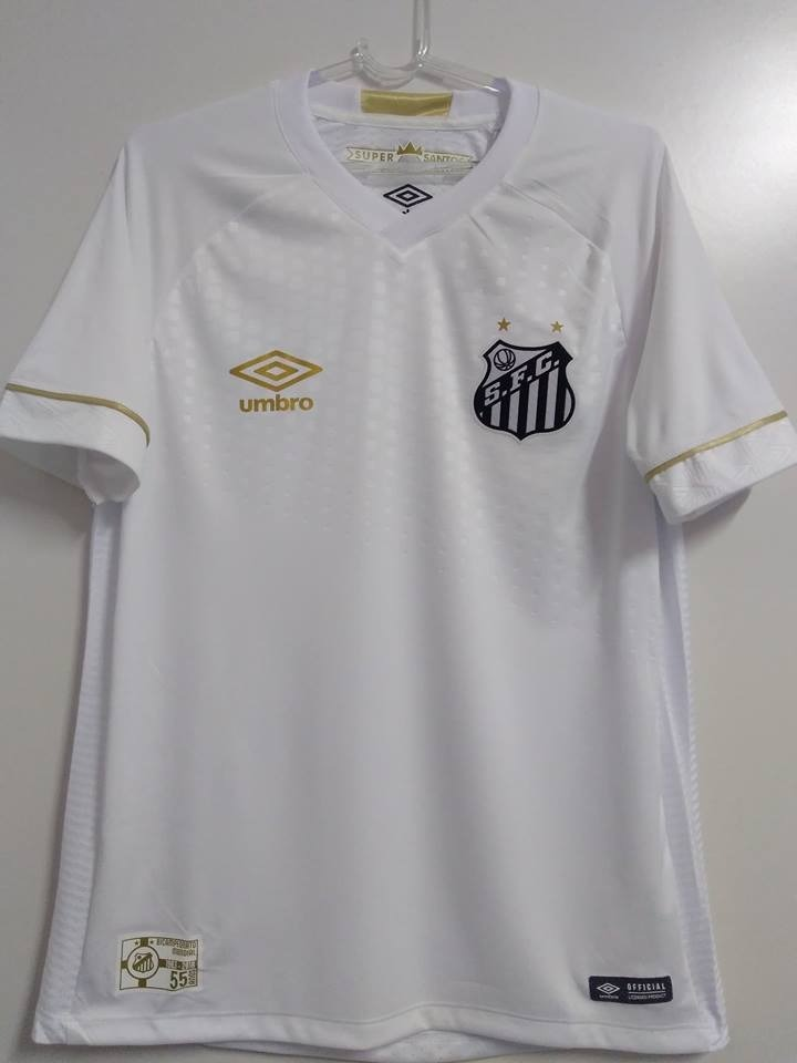 outlet 088 camisa santos game jogador oficia umbro 2018 2019. Carregando  zoom. bd9b16a826eb6