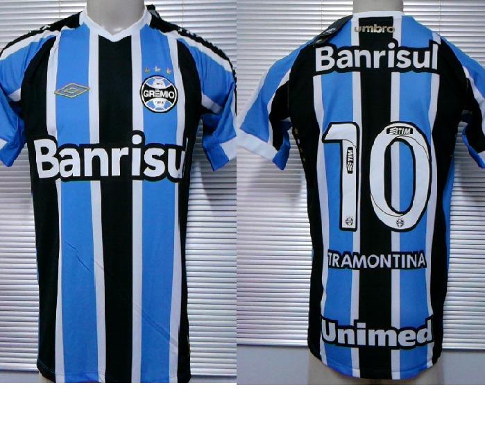 43a69b9fcc Outlet 112 - Camisa Gremio Umbro Game / Jogador 2015 - N°10 - R$ 109 ...
