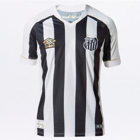 de4f65f9b Camisa Oficial Do Santos 2018 - Futebol no Mercado Livre Brasil