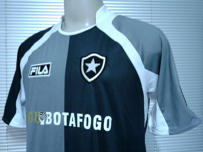 00d33b96487c2 Outlet 211 Camisa Sou Botafogo Of. Fila Unif. 4 - 2009 1010 - R  99 ...