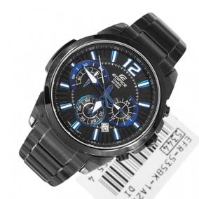 123abfd7248f Casio Edifice Ef 535 Bk 1avdf Nuevo Caja Manual - Relojes Pulsera en Mercado  Libre Argentina