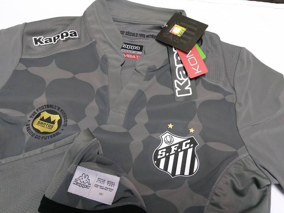 f965c992f4380 outlet 916 camisa santos feminina goleiro oficial kappa 2016. Carregando  zoom.