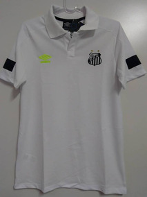 ef162f90a8 Camisa Santos Polo Masculina no Mercado Livre Brasil