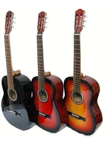 outlet : guitarra criolla de lujo + funda basica