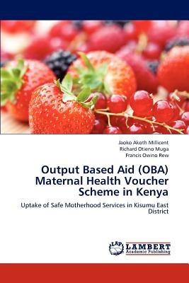 output based aid (oba) maternal health voucher  envío gratis