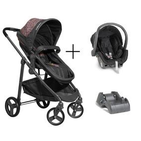 b4dd2dc87c6 Carrinho Bebe Gemelar Cadeiras Carro Galzerano - Bebês no Mercado ...