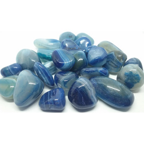d87f66004e1 Pedras Preciosas Agata Azul Com - Pedras Preciosas no Mercado Livre ...