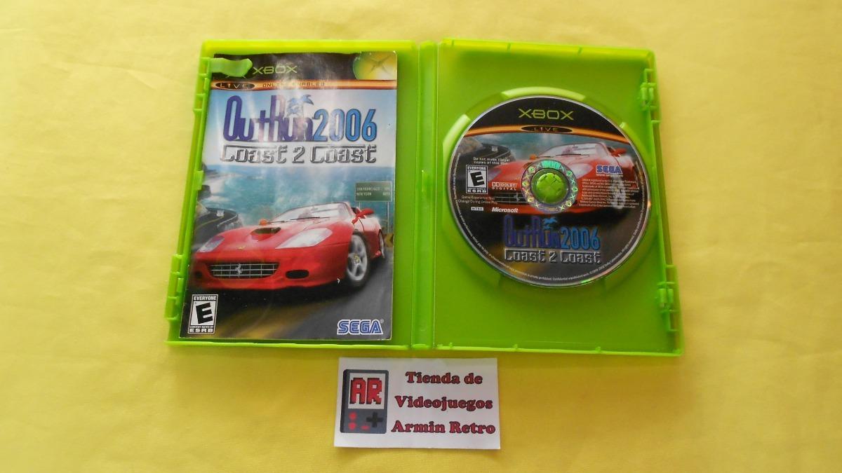 Outrun 2006 Coast 2 Coast Xbox Clasico *1-6 Jugadores* - $ 2,499 00