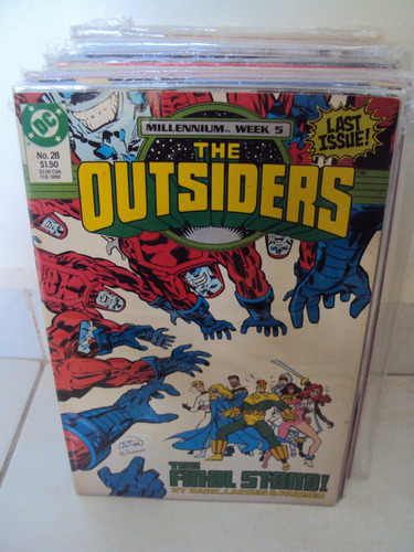outsiders # 28 - last issue - importada - renegados