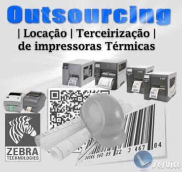 outsourcing | locação | terceirização - impressoras térmicas