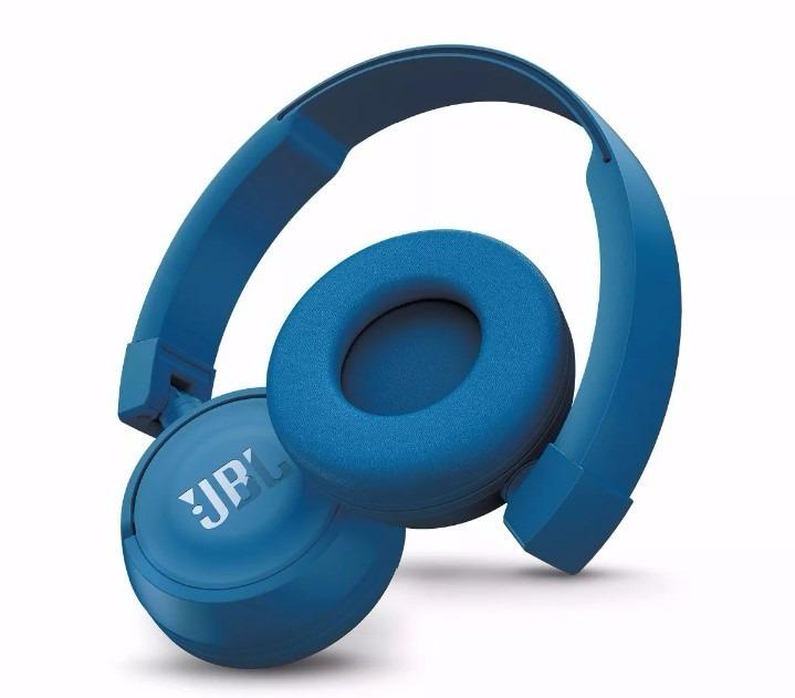 fone de ouvido sem fio jbl t450 bt on ear bluetooth azul. Black Bedroom Furniture Sets. Home Design Ideas