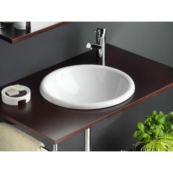 Ovalin ceramica 39 5 x19 5 cm dise o unico alto brillo for Ovalines para lavabo