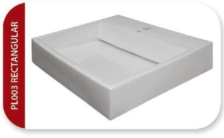 Ovalin de sobreponer para lavabo de cer mica blanco 2 en mercado libre - Lavabos de sobreponer ...