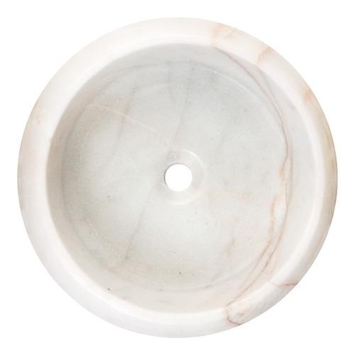 ovalines lavabos mármol 40cm de diametro dona