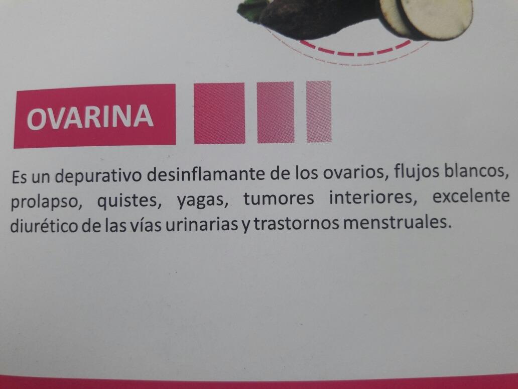 ovarina depurador antiflamatorio s 25 00 en mercado libre