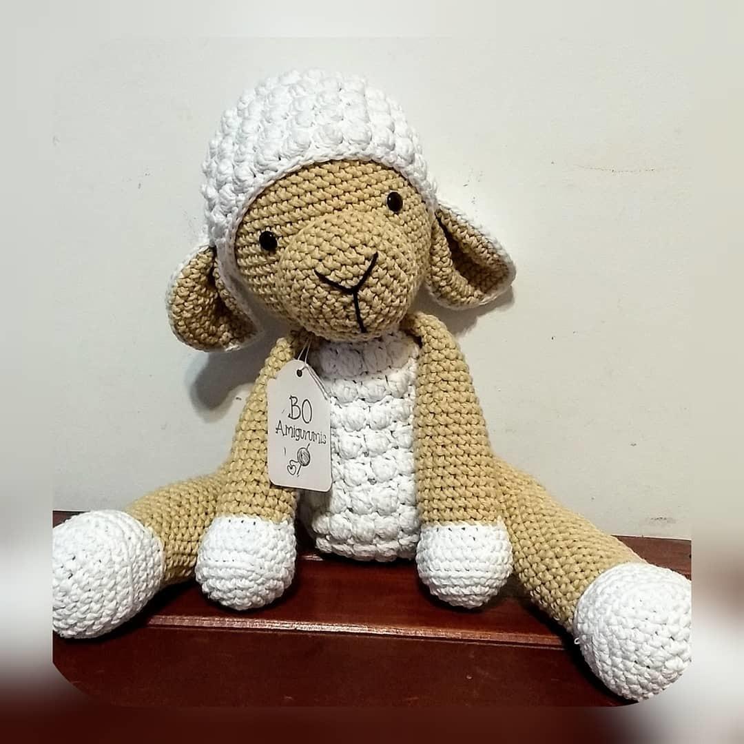 Amigurumi Crochet Pattern - Cuddles the Sheep   Patrón de ...   1080x1080