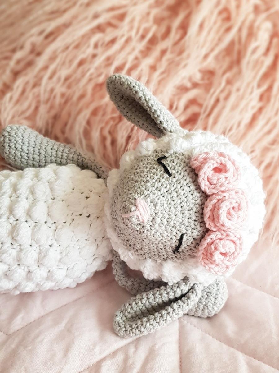 Sujeta Cortinas Oveja Crochet Amigurumi - $ 750,00 en Mercado Libre   1200x900