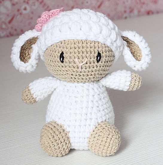 crochet lamb - PATTERN : Sheep - Amigurumi - Sheep - Amigurumi ...   552x545