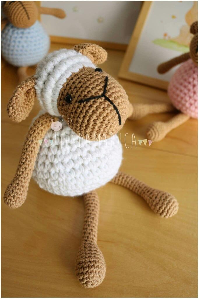 Pecora Amigurumi Tutorial - Sheep Crochet (Eng Sub) Oveja Crochet ...   1024x683