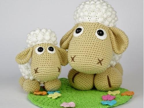 ovejas amigurumi crochet - tienda online nariz de azúcar
