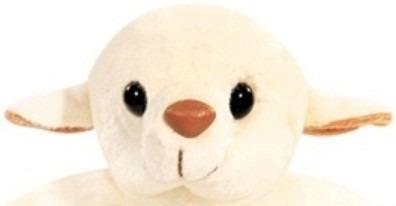 ovelha hopy pelucia 12 cm creme lavavel antialergica unissex