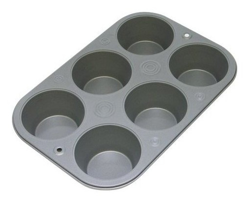 ovenstuff nonstick 6 cup jumbo muffin pan americanmade nonst