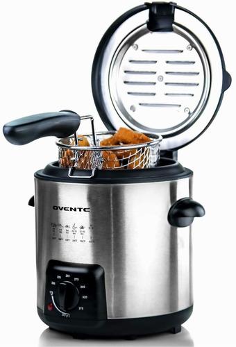 ovente fdm1091br - freidora electrica de aceite (0,9 litros,