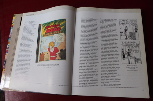 over 50 years of american comic books ron goulart inglés