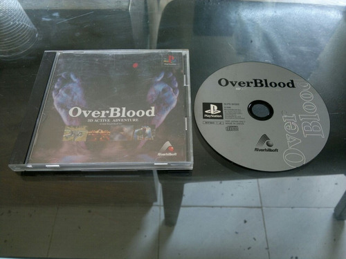 over blood completo japones para play station 1
