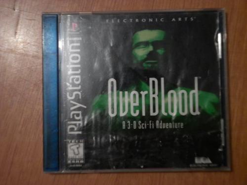 over blood para el ps-1