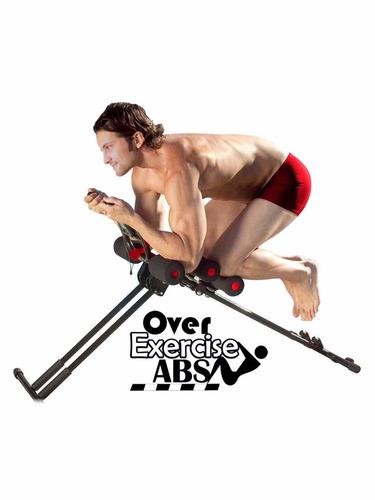 over exercise abs ejercita el abdomen con contador digital