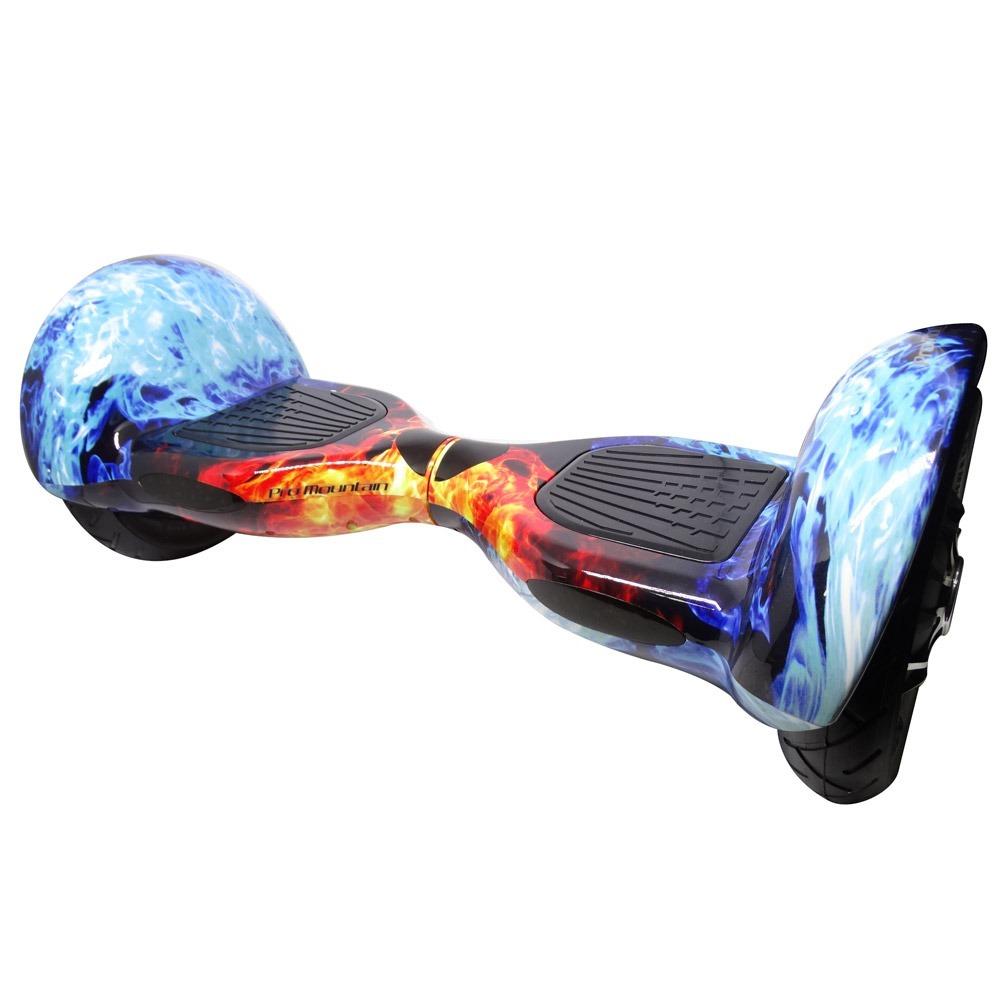 overboard 10 polegadas skate elétrico gelo e fogo + bolsa. Carregando zoom. 01eb750437f